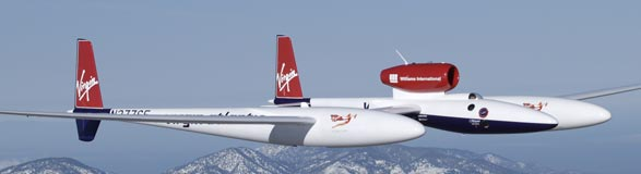 Virgin Atlantic Global Flyer.